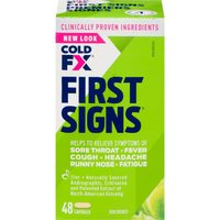 Cold FX or ColdFX First Signs Cold Products