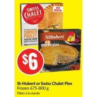 St-Hubert Or Swiss Chalet Pies