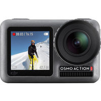DJI Osmo Action Waterproof 4K HDR Sports & Helmet Camera - Grey