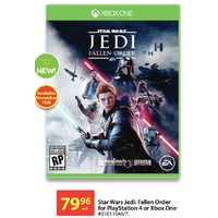 Star Wars Jed: Fallen Order For Playstation 4 Or Xbox One