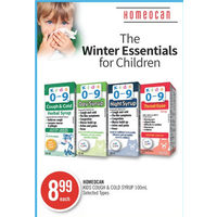 Homecan Kids Cough & Cold Syrup