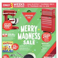 Canadian Tire - Only 3 Weeks To Christmas! - Merry Madness Sale Flyer