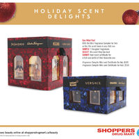 Shoppers Drug Mart - Luxury Beauty - Holiday Scent Delights Flyer