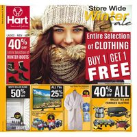 Hart Stores - 2 Weeks of Savings - Store Wide Winter Sale Flyer