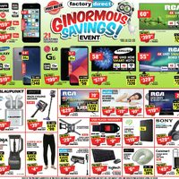 - Ginormous Savings Event Flyer