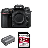 Nikon D7500 Camera Body Plus Li-Ion Rechargeable Battery And 32GB Memory Card