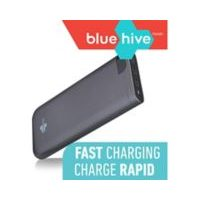 Bluehive mAh 2-Port Power Bank with Battery Life Indicator
