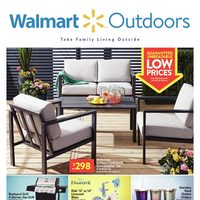 Walmart - Outdoors - Take Family Living Outside Flyer