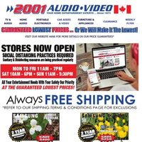 2001 Audio Video - Weekly Specials Flyer