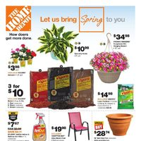 Home Depot - Let Us Bring Spring To You Flyer