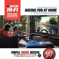 Centre HIFI - Weekly - Having Fun At Home Flyer