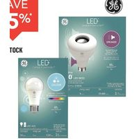 All GE In-Stock LED + Bulbs