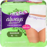 Always Discreet Incontinence Underwear Or Pads