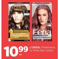 L'oreal Perference Or Feria Hair Colour
