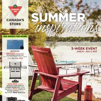 Canadian Tire - Summer Inspirations Flyer