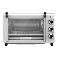 Black+Decker 6-Slice Air Fryer/Convection Toaster Oven