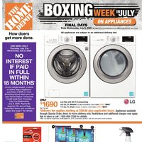- Weekly - Boxing Week in July Flyer