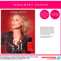 Shoppers Drug Mart - Beauty Boutique Locations Only - Indulgent Scents Flyer