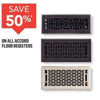 All Accord Floor Registers