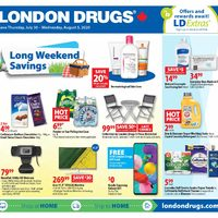 - 6 Days of Savings - Long Weekend Savings Flyer