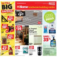 Home Hardware - Building Centre - Long Weekend Deals Flyer