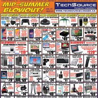 Tech Source - Mid-Summer Blowout! Flyer