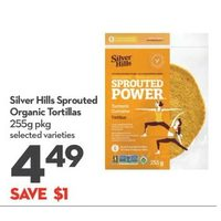 Silver Hills Sprouted Organic Tortillas