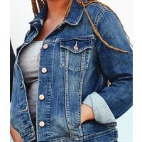 Signature By Levi Strauss & Co. Ladies Trucker Jacket