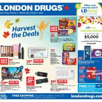 London Drugs - 6 Days of Savings - Harvest The Deals Flyer