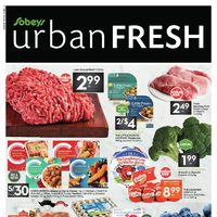 Sobeys - Spadina & St. Clair Only - Urban Fresh Flyer