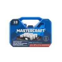Mastercraft 13-Pc Plumbing and Electrical Hole Saw Kit