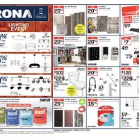 Rona - Weekly - Lighting Event Flyer
