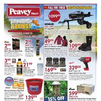 PeaveyMart - Cold Weather Savings Flyer