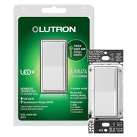 Lutron Sunnata Touch Dimmer With LED