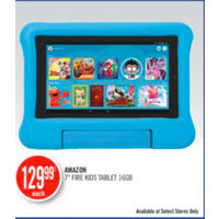"Amazon 7"" Fire Kids Tablet 16 GB"