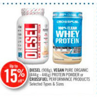Diesel, Vegan Pure Organic Protein Powder Or Crossfuel Performance Products