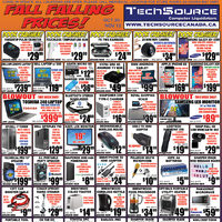 Tech Source - Fall Falling Prices! Flyer