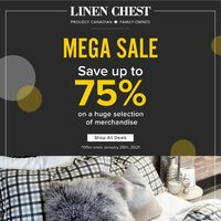 Linen Chest - Mega Sale Flyer