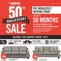 - Saving You More - 50th Anniversary Sale Flyer