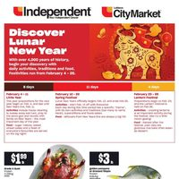 Your Independent Grocer - Discover Lunar New Year Flyer