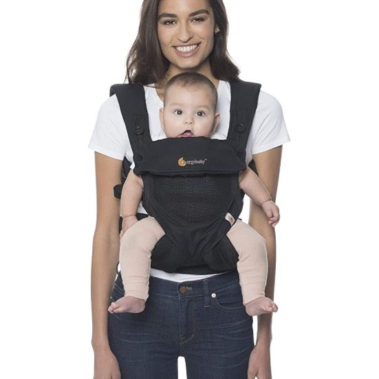 1. Editor's Pick: Ergobaby 360 All-Position Baby Carrier with Lumbar Support