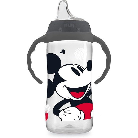 2. Runner Up: NUK Disney Mickey Mouse Large Learner Cup