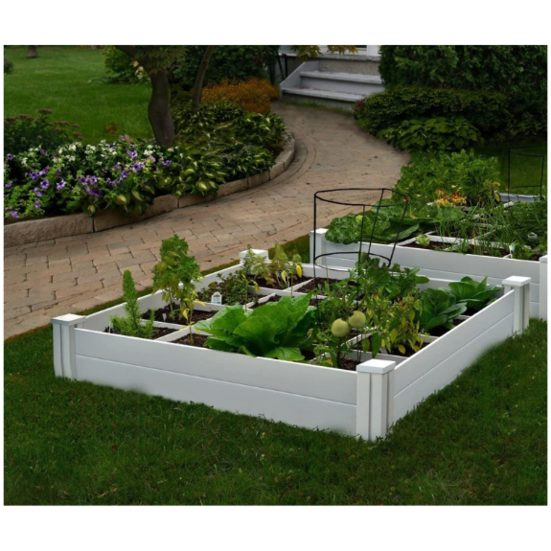 9. Best Garden Gift: Vita Gardens 48in x 48in x 7.5in Garden with Grid