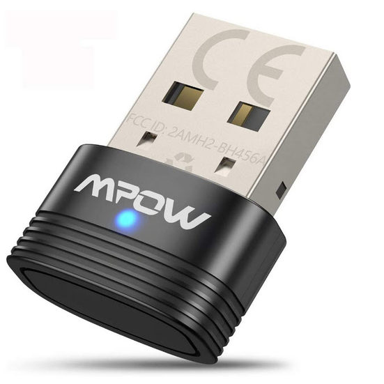 6. Also Consider: Mpow Bluetooth 5.0 USB Adapter