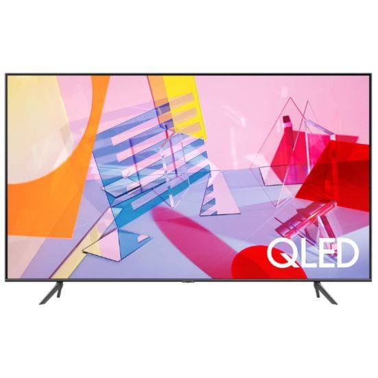 """1. Editor's Pick: Samsung 75"""" Q60T 4K Ultra HD HDR Smart QLED TV (QN75Q60TAFXZC)"""