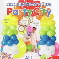 Party City - 2021 Birthday Guide - All Things Birthday Flyer