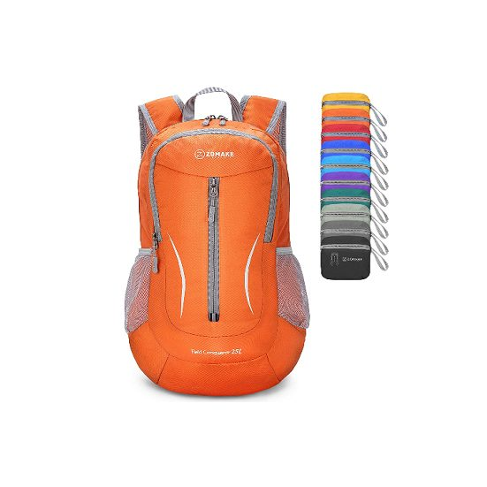 1. Editor's Pick: ZOMAKE Lightweight Packable Hiking Daypack