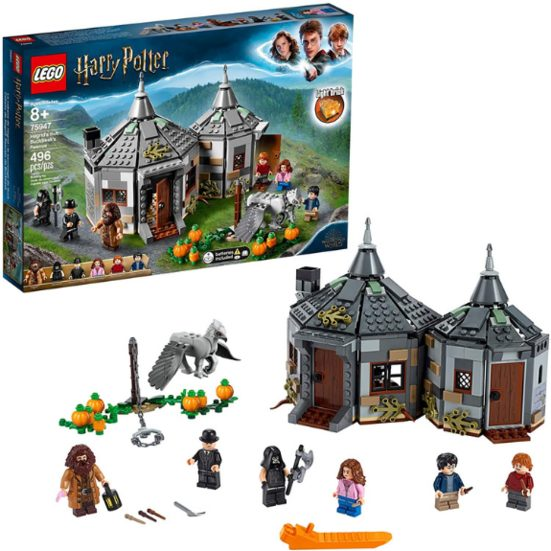 7. Best Harry Potter Set: LEGO Harry Potter and The Prisoner of Azkaban - Hagrid's Hut