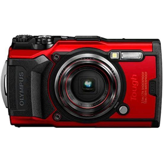7. Best Durable: Olympus Tough TG-6 Waterproof Camera