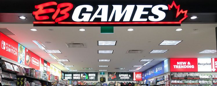 EB Games Stores to be Rebranded as GameStop in Canada